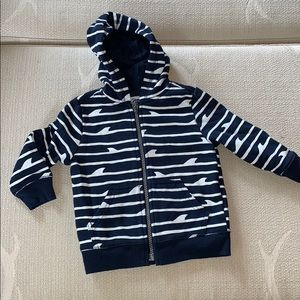 Old Navy Toddler Boy Zip Up 18-24m EUC
